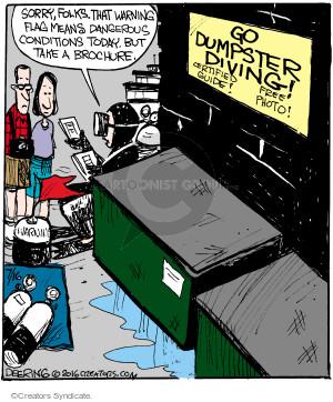 Comic Strip John Deering  Strange Brew 2016-07-16 hazard