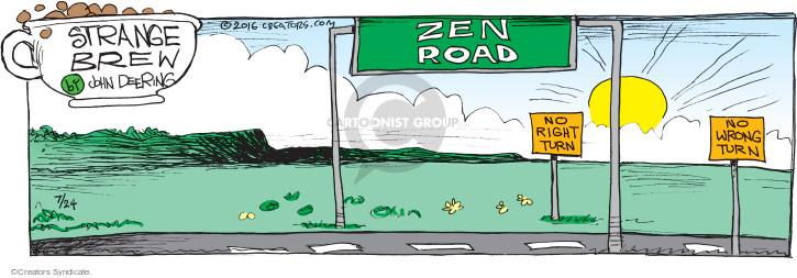 Comic Strip John Deering  Strange Brew 2016-07-24 road