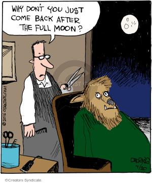 Comic Strip John Deering  Strange Brew 2016-07-20 hair