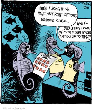Comic Strip John Deering  Strange Brew 2016-07-28 ocean