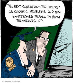 Cartoonist John Deering  Strange Brew 2016-08-02 problem