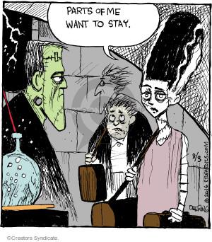 Comic Strip John Deering  Strange Brew 2016-08-03 movie