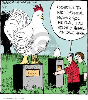 Comic Strip John Deering  Strange Brew 2016-08-04 egg