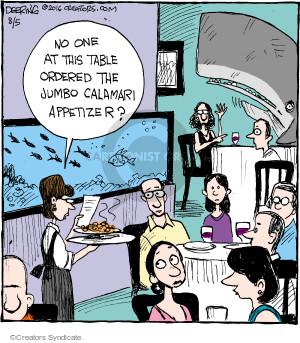 Cartoonist John Deering  Strange Brew 2016-08-05 eat