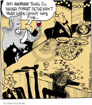 Comic Strip John Deering  Strange Brew 2016-08-13 toast