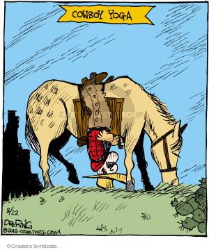 Comic Strip John Deering  Strange Brew 2016-08-22 yoga
