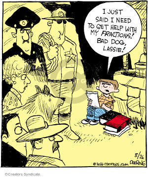 Comic Strip John Deering  Strange Brew 2016-08-26 fraction