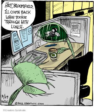 Cartoonist John Deering  Strange Brew 2016-08-29 eat