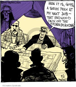 Cartoonist John Deering  Strange Brew 2016-09-02 kitchen