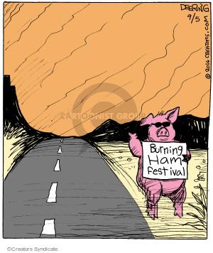Burning Ham Festival.