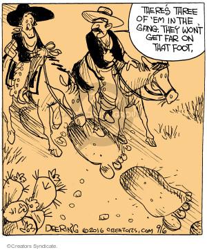 Comic Strip John Deering  Strange Brew 2016-09-06 strange