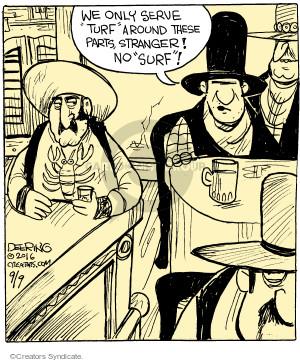 Cartoonist John Deering  Strange Brew 2016-09-09 eat