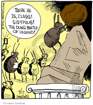 Comic Strip John Deering  Strange Brew 2016-09-17 Greek mythology