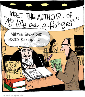 Comic Strip John Deering  Strange Brew 2016-09-19 author