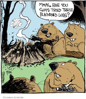 Cartoonist John Deering  Strange Brew 2016-09-22 eat