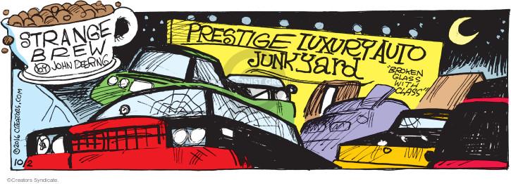 Comic Strip John Deering  Strange Brew 2016-10-02 line