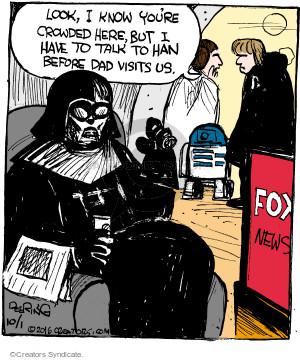 Comic Strip John Deering  Strange Brew 2016-10-01 news