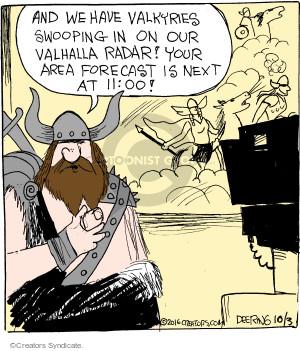 Comic Strip John Deering  Strange Brew 2016-10-03 news