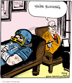 Comic Strip John Deering  Strange Brew 2016-10-14 play