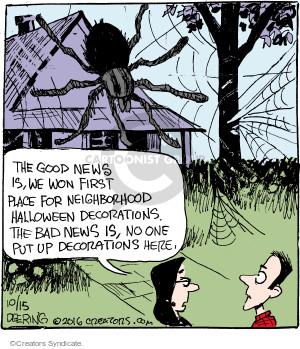 Comic Strip John Deering  Strange Brew 2016-10-15 news