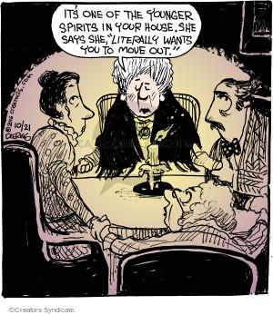 Comic Strip John Deering  Strange Brew 2016-10-21 side