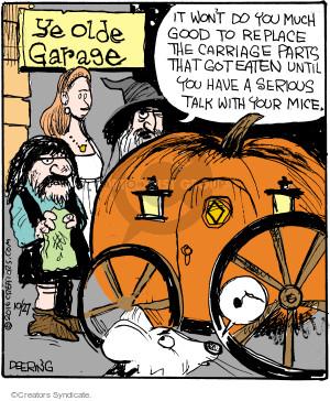Comic Strip John Deering  Strange Brew 2016-10-27 garage