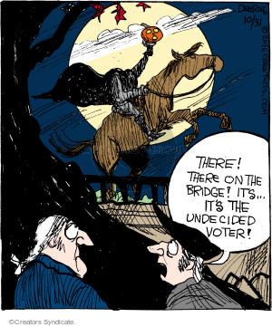 Comic Strip John Deering  Strange Brew 2016-10-31 election