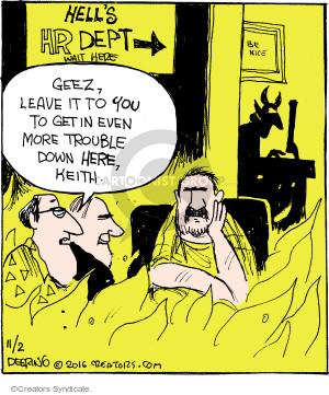Comic Strip John Deering  Strange Brew 2016-11-02 hell