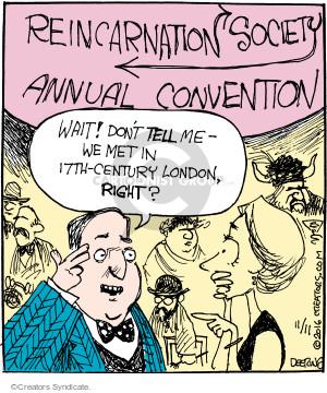Cartoonist John Deering  Strange Brew 2016-11-11 past