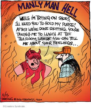 Comic Strip John Deering  Strange Brew 2016-11-15 hell