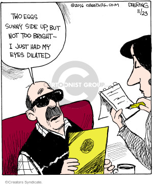 Comic Strip John Deering  Strange Brew 2016-11-23 dilation