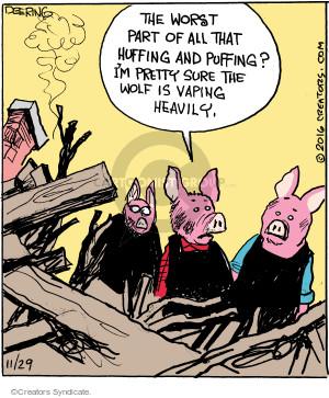 Comic Strip John Deering  Strange Brew 2016-11-29 world