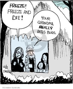 Comic Strip John Deering  Strange Brew 2016-12-02 grandparent