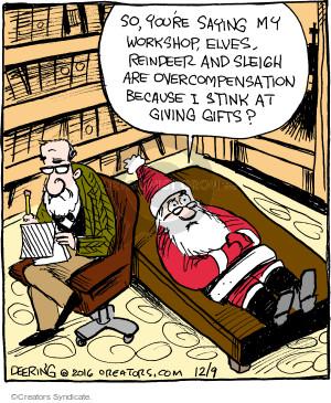 Comic Strip John Deering  Strange Brew 2016-12-09 psychoanalysis