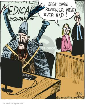 Comic Strip John Deering  Strange Brew 2016-12-12 medical