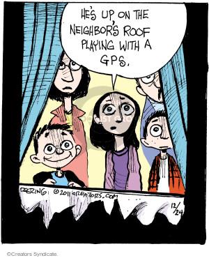 Comic Strip John Deering  Strange Brew 2016-12-24 playing
