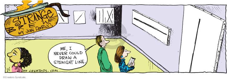 Comic Strip John Deering  Strange Brew 2017-01-01 line