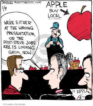 Comic Strip John Deering  Strange Brew 2017-01-09 company