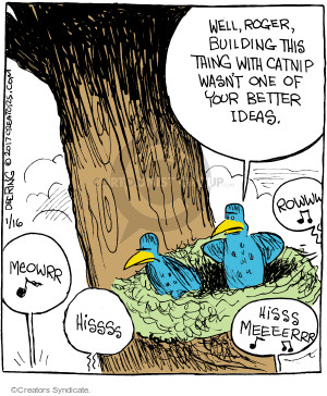 Comic Strip John Deering  Strange Brew 2017-01-16 build