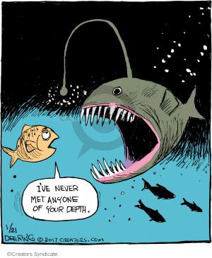 Comic Strip John Deering  Strange Brew 2017-01-21 fish
