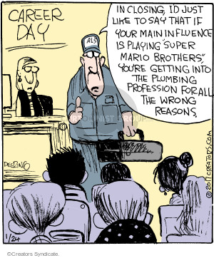 Cartoonist John Deering  Strange Brew 2017-01-24 student