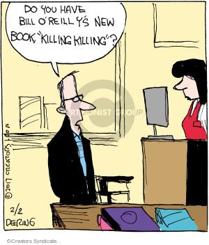 Comic Strip John Deering  Strange Brew 2017-02-02 bookstore