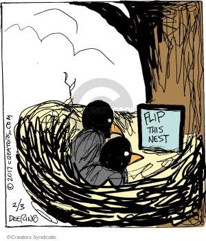Comic Strip John Deering  Strange Brew 2017-02-03 bird