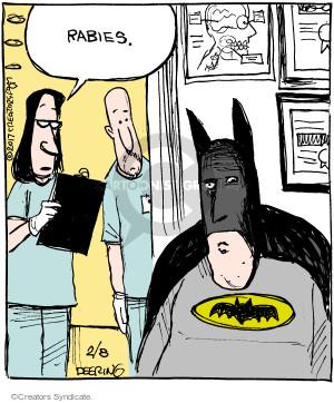 Comic Strip John Deering  Strange Brew 2017-02-08 diagnose