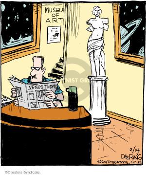Comic Strip John Deering  Strange Brew 2017-02-14 alien