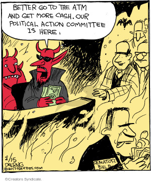 Comic Strip John Deering  Strange Brew 2017-02-15 Satan
