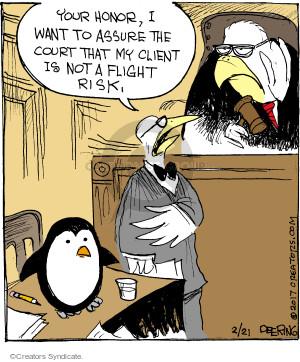 Comic Strip John Deering  Strange Brew 2017-02-21 bird