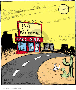 Comic Strip John Deering  Strange Brew 2017-02-25 road