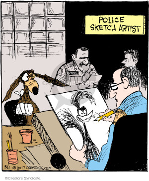 Comic Strip John Deering  Strange Brew 2017-03-01 investigation