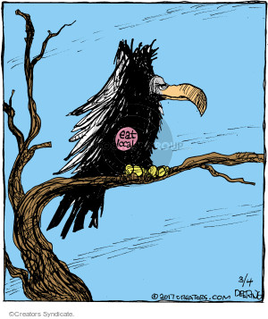 Cartoonist John Deering  Strange Brew 2017-03-04 eat